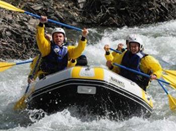 Rafting en Espagne