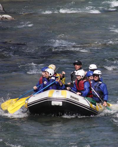 Rafting sur le RIO ESERA